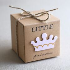 24st Taufgeschenk Gastgeschenk Baby Taufe Geburtstag Box Schachtel (Princess)