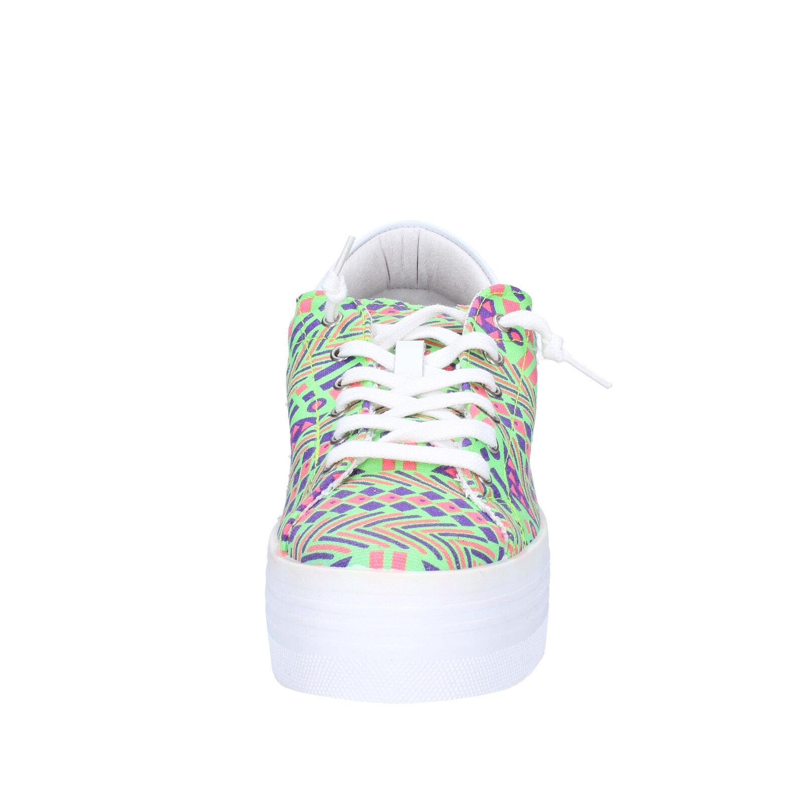 Damen schuhe 2 STAR  textil 40 EU sneakers Mehrfarbig textil  AP709-B be109d