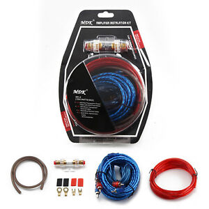 Audio-1500W-Complete-10-GAUGE-Car-Amp-Amplifier-Cable-Subwoofer-Wiring-Kit