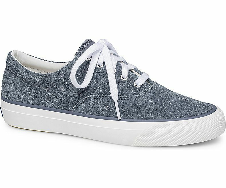 Keds WH58537 Women's Anchor Hairy Suede bluee Sneakers, Size 11