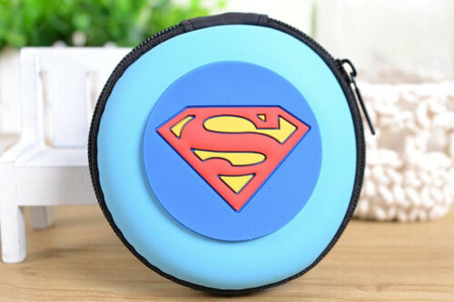 Zip Silicon SUPERHERO Coin Purse woman boys girls children Party bags Birthday