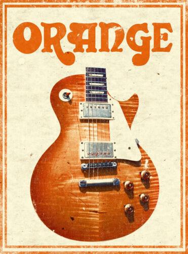 orange old poster vintage Old Retro POSTER PRINT ART #3 A3//A4 SIZE