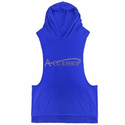 Men/'s Sport Workout Vest Tank Top bodybuilding gym muscle fitness football shirt