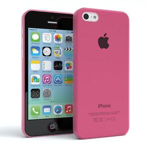 Schutz-Huelle-fuer-Apple-iPhone-5C-Cover-Handy-Case-Matt-Pink