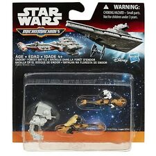 Brand New Star Wars Return Of The Jedi Micro Machines 3-Pack Endor Forest Battle