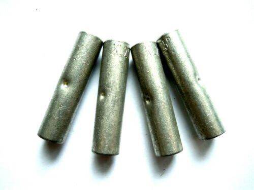 Pressverbinder KL 25 Press Verbinder Kupfer verzinkt Länge 40 mm 4 Stück