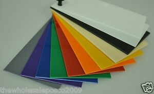 High Impact Polystyrene Sheet Hips 1 5mm Thick Colours