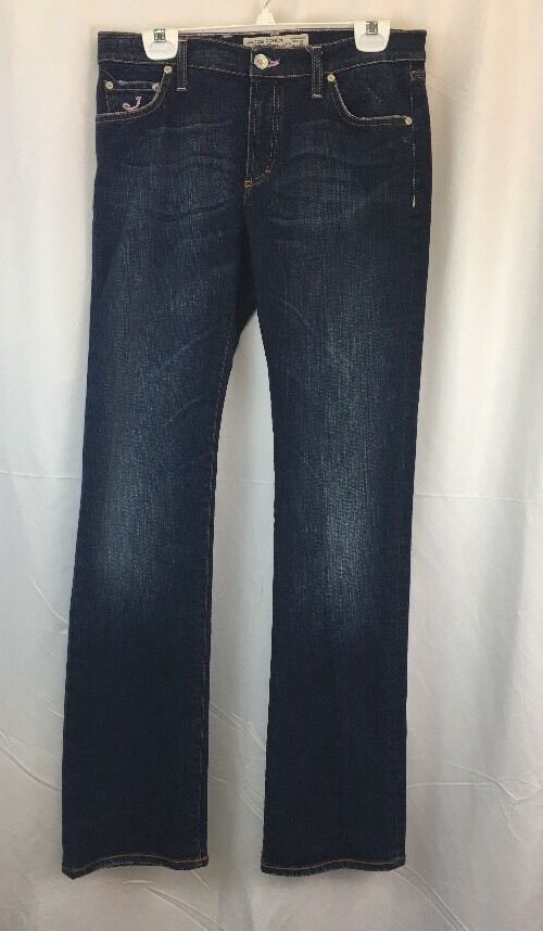 Jacob Cohen Tailor Jeans handmade Womens Size 30 Dark Wash Boot-Cut Style