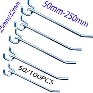 Metal-Peg-Board-Hooks-50mm-To-250mm-Pegboard-Grooved-Panel-Hook-25-32mm-Holes