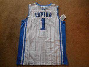 brand new da74e b86f2 Details about Kyrie Irving #1 Duke Blue Devils STITCH White Basketball  Jersey Men X-large NEW!