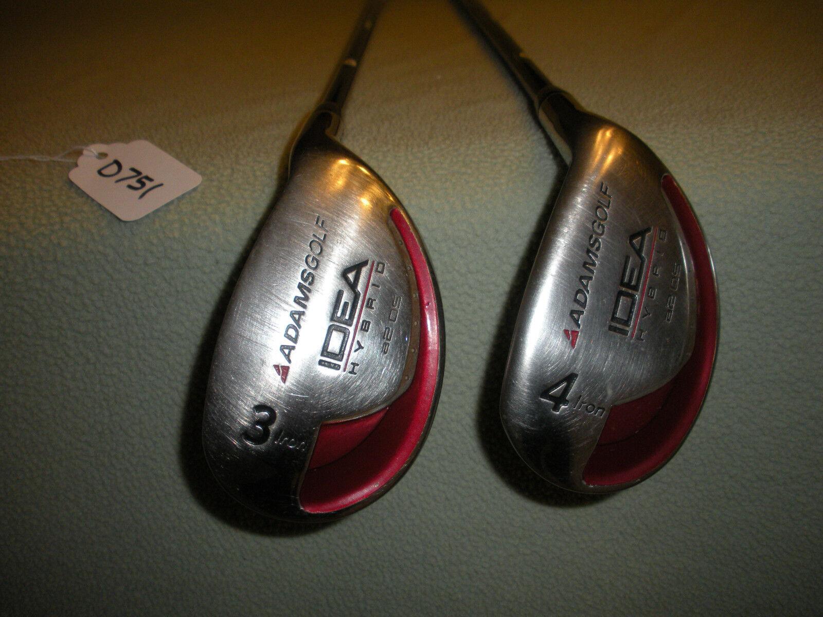 Adams idea  a2 de gran tamaño Regular Flex 3 híbrido & 4 híbrido D751  venderse como panqueques