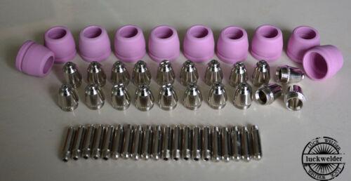 SG-55 AG-60 Air Plasma Cutter Cutting Torch Consumables Tip Electrodes 50pcs
