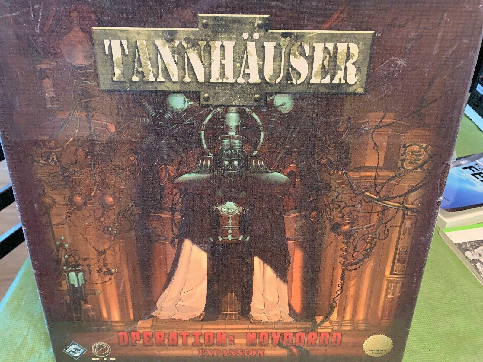 Tannhauser EXPANSION  Operation Novgorod Miniature gioco - nuovo SEALED  forniamo il meglio