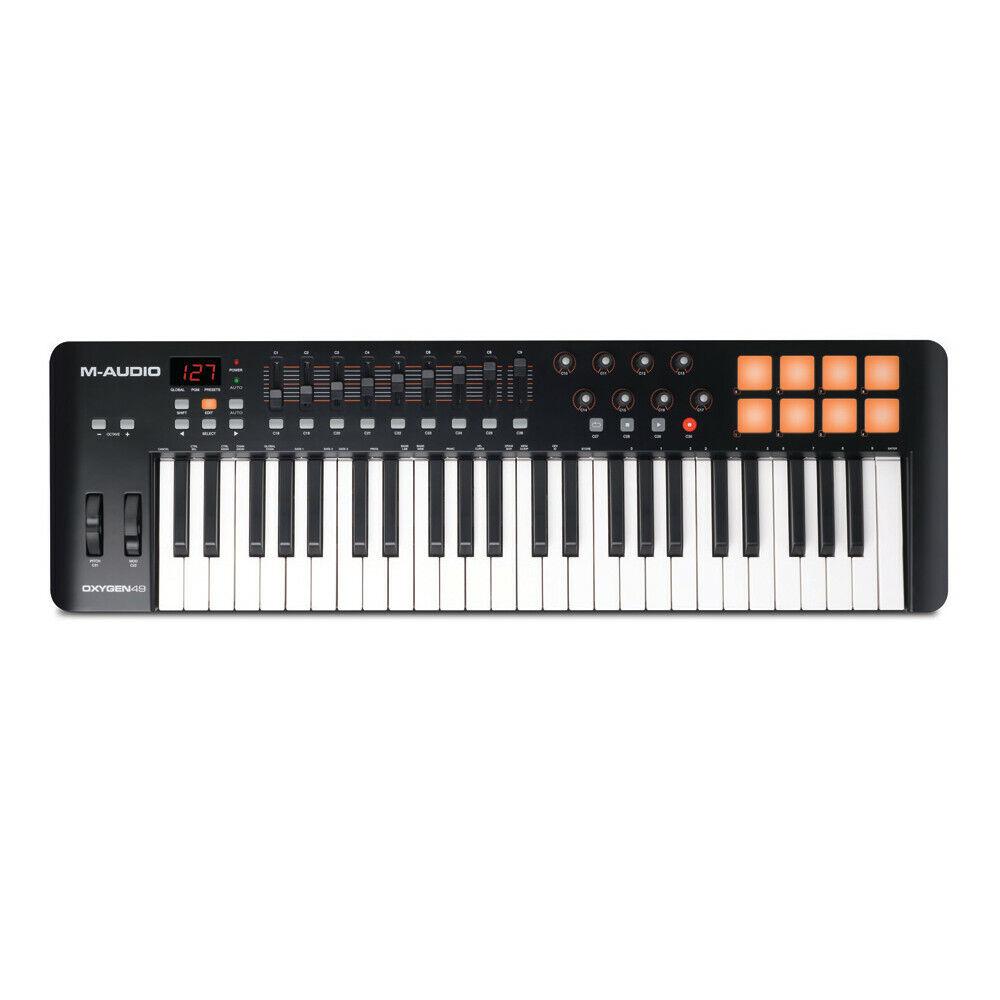 M-Audio Sauerstoff 49-Key USB MIDI Keyboard Controller