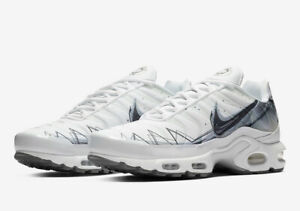 pretty nice 158cd 47aaa Details about Nike Air Max Plus Le Requin Tuned White Pure Platinum Wolf  Grey BV7826-100