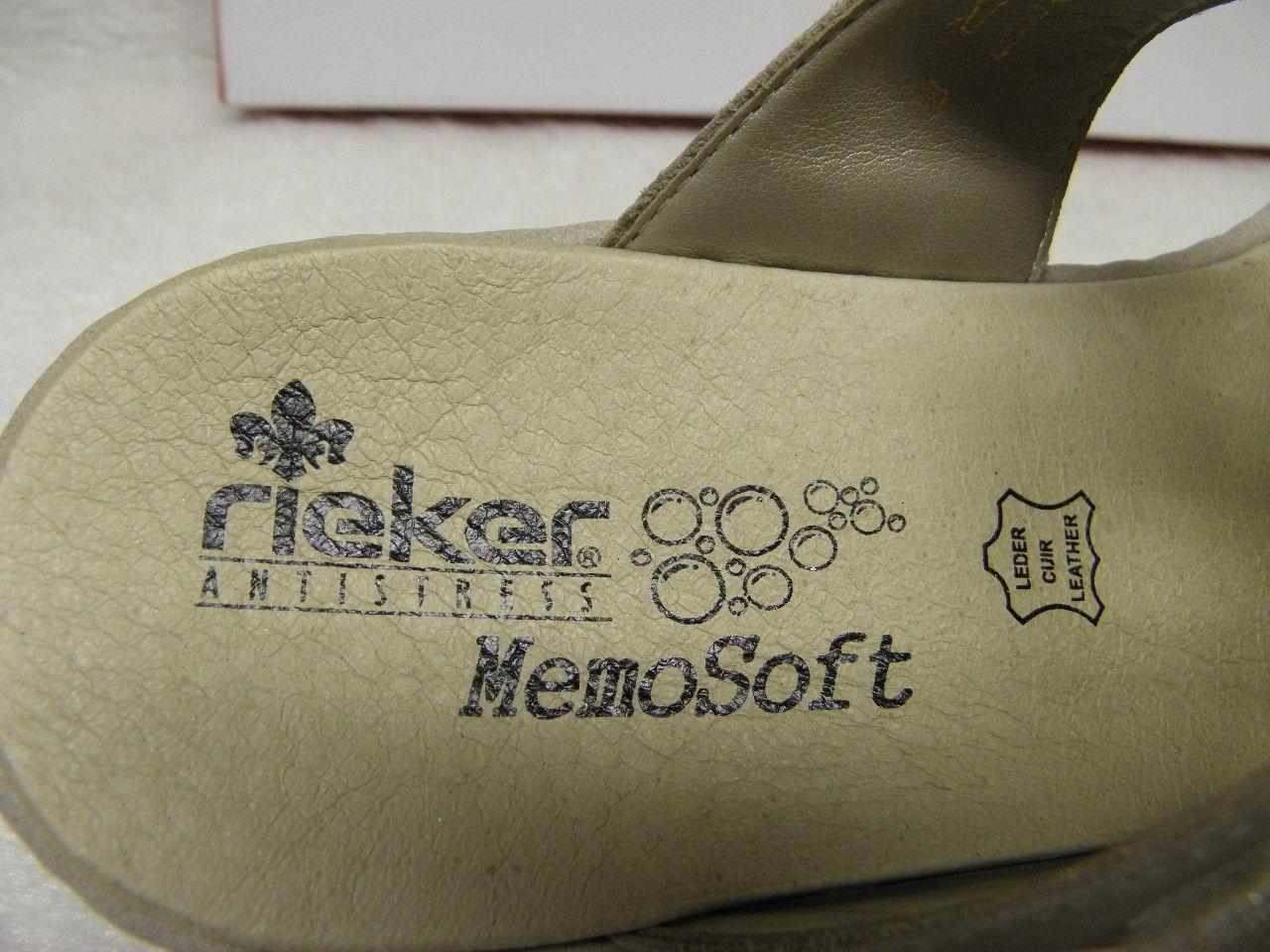 rieker ®  Top Preis  MemoSoft NEU  superbequem   65979-91  (R352)