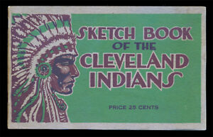 1918-Cleveland-Indians-Sketch-Book-Extremely-rare-Incredible-condition