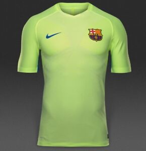 Masaje trapo Saturar  Nike FC Barcelona Aeroswift Strike Men's Training Shirt - 829975 368 | eBay
