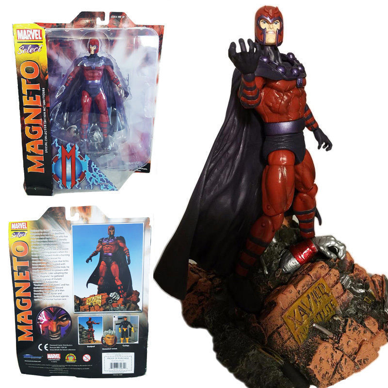 MARVEL SELECT MAGNETO SPECIAL COLLECTOR EDITION DIAMOND ACTION FIGURES COMIC TOY
