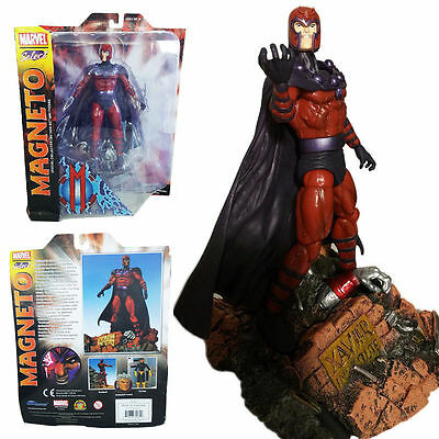 Herrlich Marvel Select Magneto Special Collector Edition Diamond Action Figures Comic Toy Grade Produkte Nach QualitäT