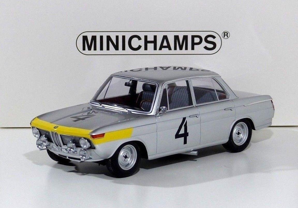 BMW 1800 Tisa-Winner 24h SPA 1965-Ickx, Van Ophem  4 Minichamps 1 18 NUOVO
