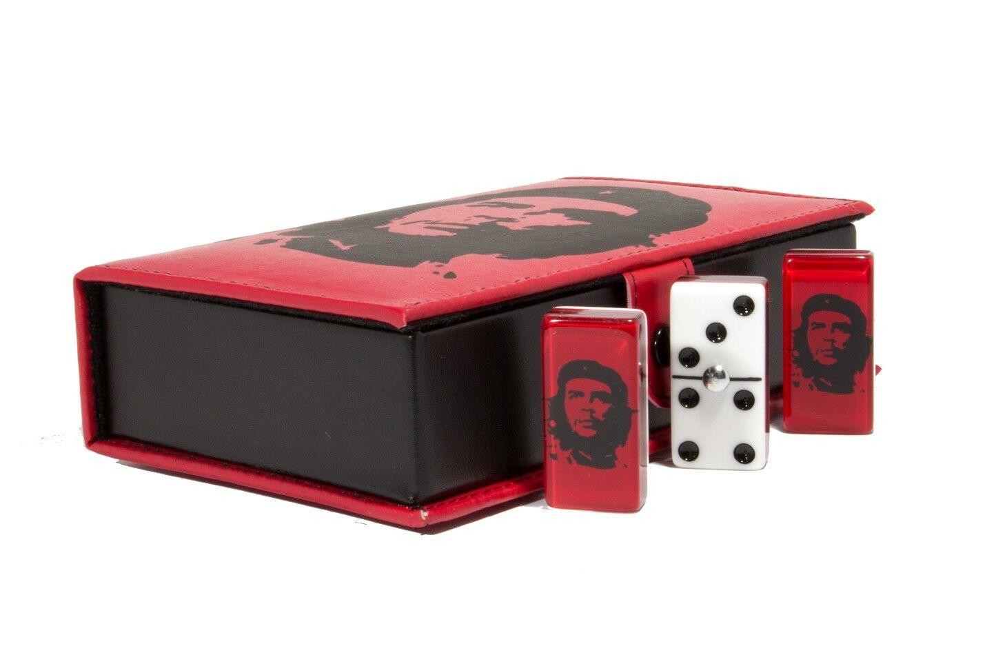 Che Guevara Domino 100% Acrílico, Imitación de cuero caso