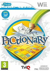 Pictionary-uDraw-Nintendo-Wii-Game-VERY-GOOD-CONDITION
