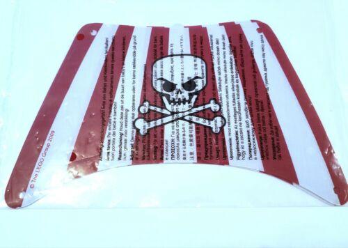 Cloth Sails from 6243 Brickbeard/'s Bounty Sealed LEGO Pirates II Lot