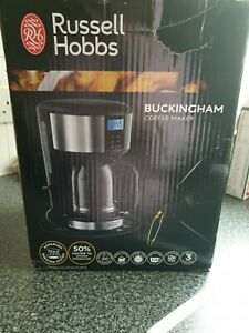 Details About Russell Hobbs 20680 Buckingham Coffee Maker Stainless Steel