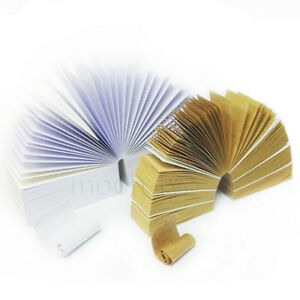 10 Packs of MOON Combo Rolling Paper Tips Filters (50 Sheets per pk)