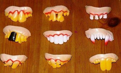 Joke Teeth - False Teeth - Rotten Teeth - Party Bags - Fancy Dress - Halloween
