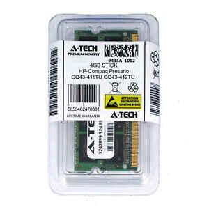 4gb-SODIMM-HP-Compaq-Presario-cq43-411tu-cq43-412tu-cq43-412tx-RAM-Speicher