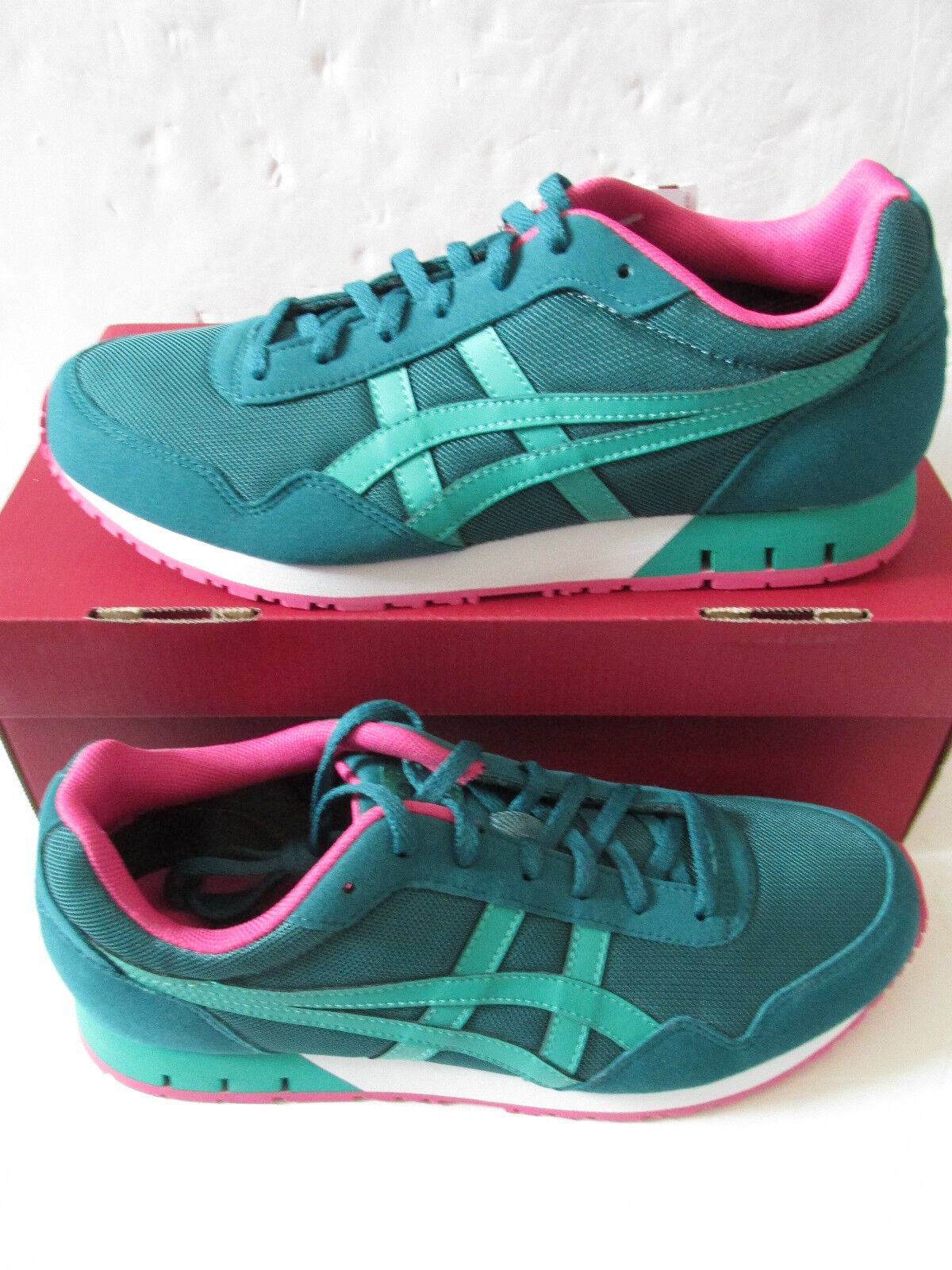 Onitsuka Tiger Curreo Femmes formateurs d4k8n 8088 Chaussures Baskets Asics