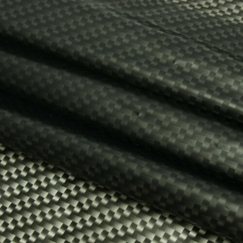 Black Carbon Fiber Water Transfer Dipping Hydrographics Hydro Film 100x50cm US