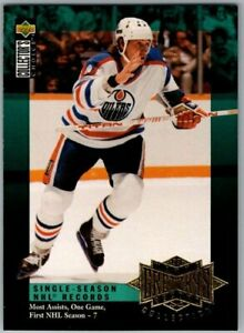 1995-96-COLLECTORS-CHOICE-WAYNE-GRETZKY-RECORD-COLLECTION-Insert-Card-G7-BV-SP