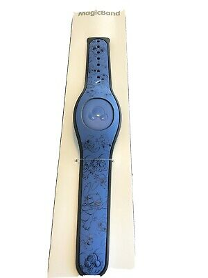 New 2020 Disney Parks Blue Stitch Passholder Limited Release MagicBand Unlinked