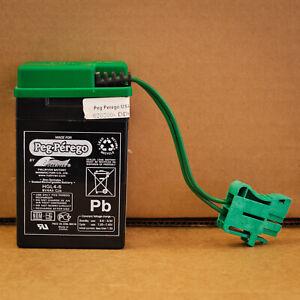 **NEW** Peg Perego 6 volt battery IAKB0509 OEM Genuine 6v