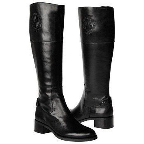 tutti i prodotti ottengono fino al 34% di sconto Etienne AIGNER COSTA ICONIC nero LOGO TALL RIDING stivali stivali stivali WIDE SHAFT I LOVE scarpe  design semplice e generoso