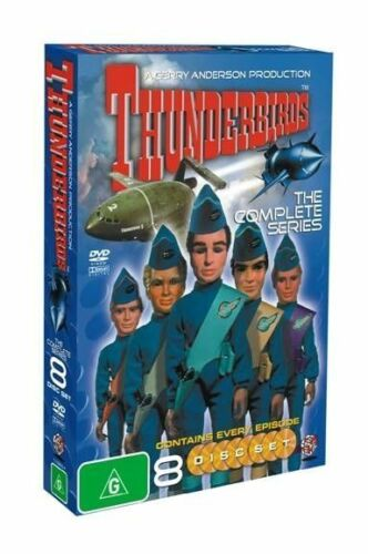 Gerry Anderson's Thunderbirds Complete Series 8xs, Region 4, As New Free Post