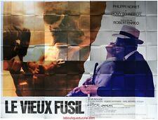 LE VIEUX FUSIL Affiche Cinéma GEANTE WIDE Poster ROMY SCHNEIDER PHILIPPE NOIRET