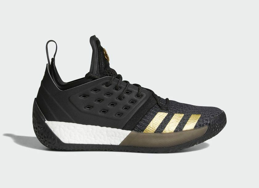 Adidas James Harden Vol. 2 Imma Be a Star Black Gold Comfortable