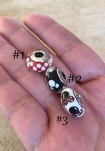 Pandora-Minnie-Mickey-Mouse-Charm-Bead-Sterling-Silver-Murano-Glass