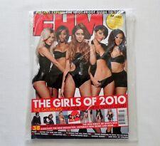 The Saturdays FHM UK Magazine February 2010 Sealed