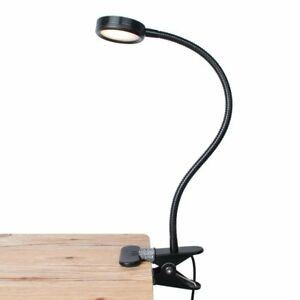 lepower clip on light reading light light color changeable night rh ebay com