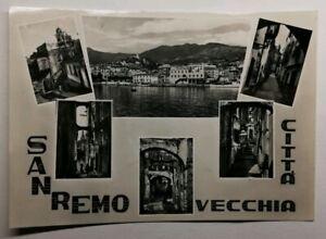 513-Antica-Cartolina-Sanremo-Vecchia-Citta