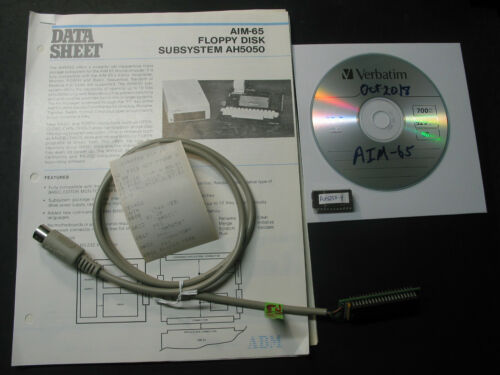 Rockwell AIM-65 C1541 FDC w//EPROM /& docs on CD works with SD emulator see pics