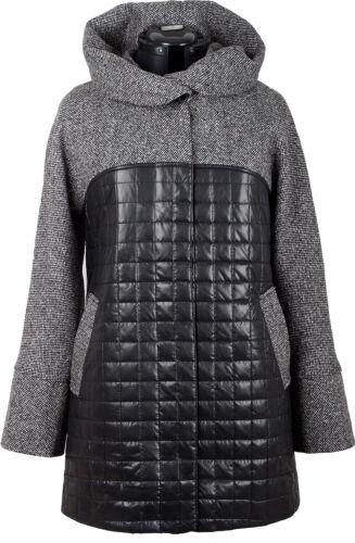 Damen Mantel Jacke Wolljacke Wollmantel COOTIC mit Kapuze Übergangsmantel Mantel