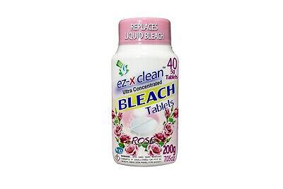 Ez X Clean Bleach Tablets Toilet Bowl Cleaner Color Safe