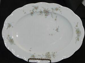 Königskuchenplatte// Stollenplatte Rosenthal Monbijou grüne Ranke