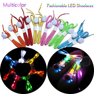 Humorous 120cm Fashion Sport Luminous Shoelace Toys Shoe Accessories Glow In The Dark Shoelace Night Running Gift At Any Cost Shoe Accessories